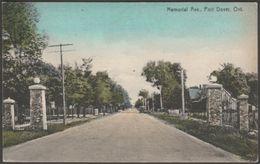 Memorial Avenue, Port Dover, Ontario, C.1905-10 - J E Evans Postcard - Other
