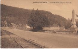 Profondeville S/M Chaussée De Dinant ( Vers Namur) Très Belle Carte - Profondeville