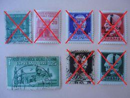 Posta Espresso - Repubblica Sociale - Monumenti Distrutti 1944 - Usato - 4. 1944-45 Repubblica Sociale