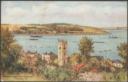Harbour From The Terraces, Falmouth, Cornwall, C.1920s - Salmon Postcard - Falmouth