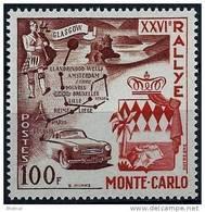 "Monaco YT 441 "" 26e Rallye Automobile "" 1955 Neuf** - Unused Stamps"