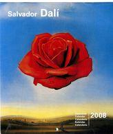 Salvador Dali  Calendrier 2008  -  12 ILLUSTRATIONS  CALENDRIER NEUF - Art