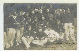 Carte Photo Marches Manoeuvres CORCIEUX Vosges 1908  Phot.du Boudiou Epinal (voir Scan Du Dos,et Description) - Maniobras
