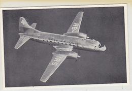 HB-IRS - Convair Airliner Der Swiss Air Lines     (P-115-70311) - 1946-....: Era Moderna
