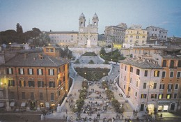 CARTOLINA - POSTCARD - ROMA - PIAZZA SPAGNIA - Places & Squares