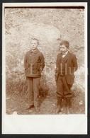 Photo Postcard / Foto / Photograph / Boys / Garçons / Unused - Photographie
