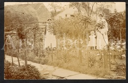 Photo Postcard / Foto / Photograph / Lovely Garden / Joli Jardin / Femmes / Women / Fille / Girl / England / Unused - Photographie