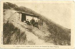 Dünen Von Ostende Esel  -  Feldpost Allemande Carte Postale -guerre 14 -18 - War 1914-18
