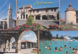 32 SOLOMIAC / MULTIVUES / ANCIENNE BASTIDE DE 1322 - Autres Communes
