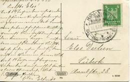 GERMANY -  1925 SKI BOB CANCEL    FDC3803 - Winter (Other)