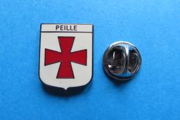 Pin's, Ville, Blason, PEILLE - Cities