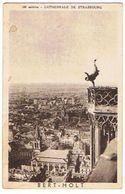 Carte Photo  ACROBATE   BERT HOLT CATHEDRALE DE STRASBOURG   ****   RARE   A   SAISIR ***** - Artistes