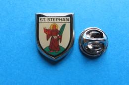 Pin's, Ville, Blason, ST.STEPHAN - Cities