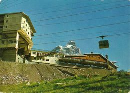 """Cervinia Breuil (Aosta) Hotel, Ristorante, Bar """"Lo Stambecco"""" E Funivia Plan Maison - Plateau Rosà - Aosta"""