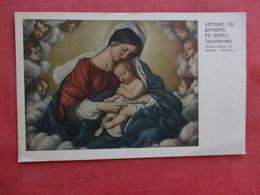 Vergine Col Bambino     Ref 2867 - Christianity