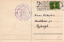 1947 PTT/tentoonstelling De Weg Van Het Woord  Op Bk Naar  Rijswijk - Poststempel