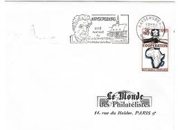Kaysersberg 1965 - Albert Schweitzer Prix Nobel - Poststempel (Briefe)