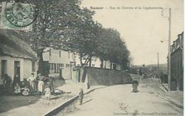 Samer - Rue De Desvres Et La Gendarmerie - Samer