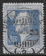 Italia Italy 1927 Regno Volta L1.25 Sa N.213 US - 1900-44 Vittorio Emanuele III