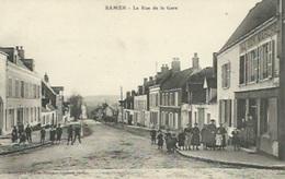 Samer - La Rue De La Gare - Samer