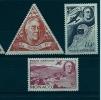 """Monaco Aerien YT 19 à 21 (PA) """" Hommage Au Pdt Roosevelt """" 1941 Neuf** - Poste Aérienne"""