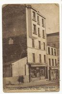 Paris XX Rue Pelleport 82 . Petits Logements Meublés . Coiffeur Propriétaire. Photo Mello. Metro Pelleport. Etat Moyen - Arrondissement: 20