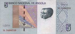 ANGOLA 5 KWANZAS 2012 (2017) P-NEW UNC  [AO550a] - Angola