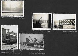 1940/44 - GOMEL, HOMEL,  40 Orginal Foto 9X6cm Auf 8 Album Karte, 8 Scan - Weißrussland