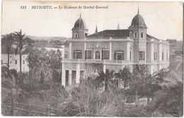 BEYROUTH --La Résidence Du Général Gouraud - Líbano