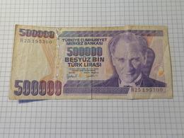 Турция. 500 000 лира - Turkey