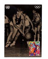 Carte Maximum 1996 Sport Basketball - New York - Sede Centrale Delle NU