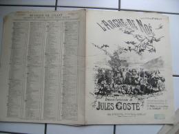 Ancienne Partition Musique  L Arche De Noe Illustrateur Animaux Fraipont Otatorio Jules Costes - Partitions Musicales Anciennes