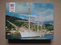 PUZZLE MB / SERIE YORK (1500 P) - BATEAU NORVEGIEN / NORVEGIAN SHIP - Puzzles