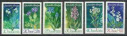 """DDR 1563-68.""""6 Briefmarken Mit Geschützten Heimischen Pflanzen 1970, Satz Kpl."""" Postfrisch Mi.-Preis 3,20 - Végétaux"""