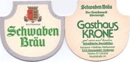 #D197-060 Viltje Schwaben Bräu (type F) - Sous-bocks