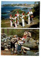 LOT  DE 48 CARTES  POSTALES  FOLKLORE  PROVINCES  FRANCAISES  N79 - 5 - 99 Postcards