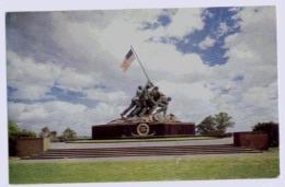UNITED STATES MARINE CORPS WAR MEMORIAL IWO JIMA STATUE - Washington DC