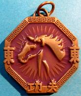 MEDAILLE AMULET JACKIE CHAN  TM & C 2003 API - Jetons & Médailles