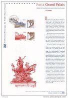 """"""" PARIS GRAND PALAIS """" Sur Document Philatélique Officiel De 2008. N° YT 4215. (Prix à La Poste = 5.00 €) - Documentos Del Correo"""