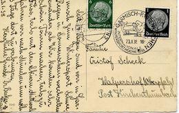 GERMANY -  1938 GARMISH INTERNATIONAL WINTER SPORTS   FDC3838 - Winter (Other)