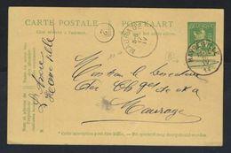 Postkaart Van Nr. 110 Met ZELDZAME Afstempelingen MAURAGE En HAVRE - VILLE , Staat Zie Scan ! - Invasion