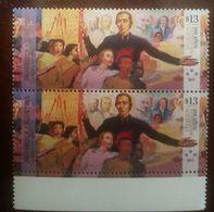 O) 2017 ARGENTINA, ANNIVERSARY CONGREGACION HERMANOS MARISTAS - MURAL MARIST FAMILY BY GREGORIO DOMINGUEZ, FRENCH PRIEST - Unused Stamps