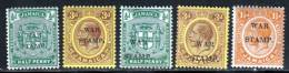 Jamaique 1916 Yvert 72 - 74 / 77 ** TB - Jamaica (...-1961)