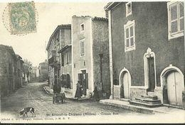 Saint Andeol Le Chateau Grande Rue - France