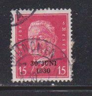 GERMANY Scott # 386 Used - Von Hindenburg Issue With Overprint - Germany