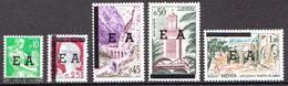 Algeria MNH EA Overprinted Set From 1962 - Algeria (1962-...)