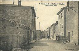 Saint Andeol Le Chateau La Grande Rue - France