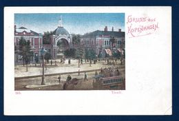Danemark. Gruss Aus Kopenhagen. Tivoli. Porte Principales Des Jardins Du Tivoli(1843). Ca 1900 - Danemark