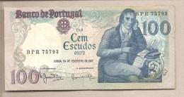 Portogallo - Banconota Circolata Da 100 Scudi P-178b.3 - 1981 - Portugal