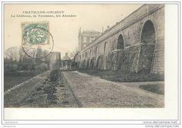 CHATILLON COLINY LE CHATEAU LA TERRASSE LES ARCADES - Chatillon Coligny